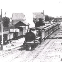 Werribee railway station.